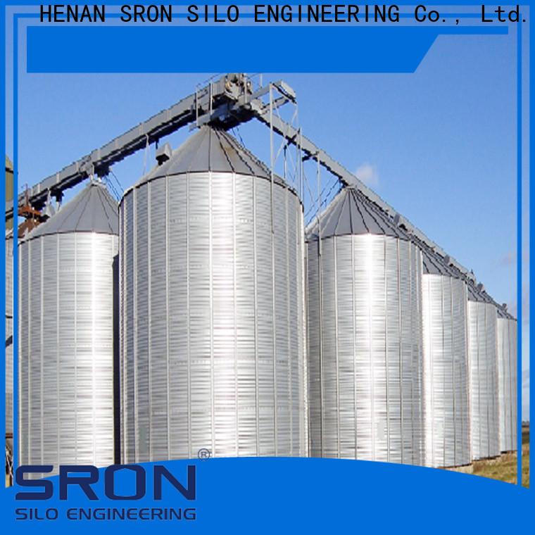 SRON Custom grain silo manufacturers for farming industry