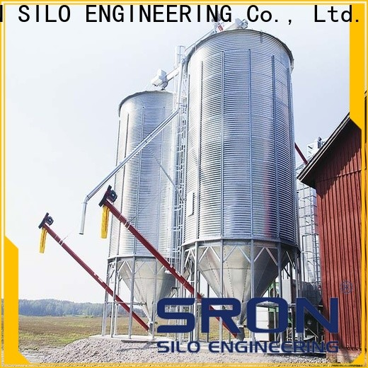 High-quality grain bins prices for sale for food & beverage industry