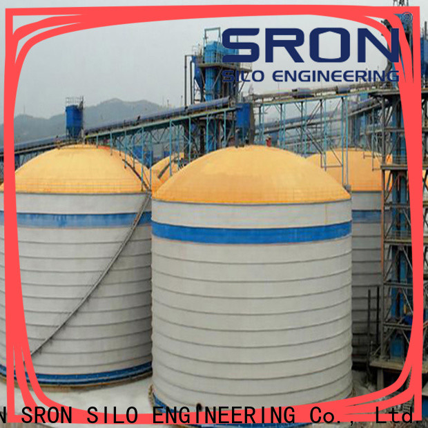 SRON lime silo solution for storing industry material